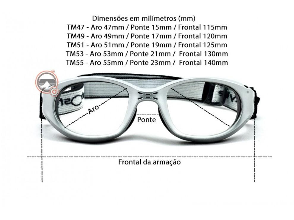 óculos para jogar futebol com grau - Óculos Esportes d4e89f9bf2